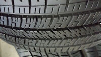 205 55 16 GOODYEAR EAGLE RS-A 95 % Tread (1) Pair.