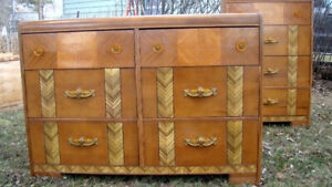 A Rare Find! Matching set of Art Deco dressers!