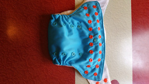 Various cloth diapers