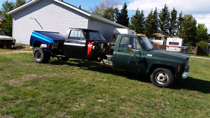 Stretched 73 GMC 1 ton