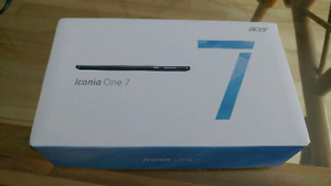 Tablette Acer Iconia One 7po 32GB NEUVE