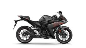 2017 YAMAHA YZF R3 **BRAND NEW 2017 MODEL** **RACE BLUE** **POWER BLACK**