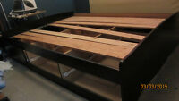 Wood bed frame / drawers