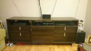"TV STAND FOR SALE, FITS UP TO 60"" TV"