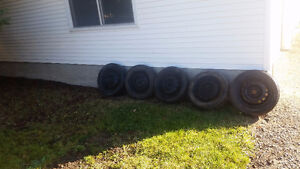 selling 5 tire hankook i pike