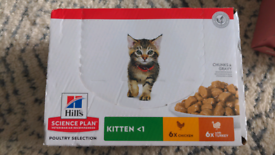 Kitten food - Hills, unopened