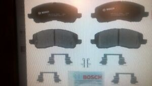 Bosch BP866 QuietCast Disc Brake Pad Set Front Jeep 2007 - 17