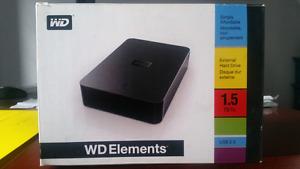 WD Elements 1.5 TB External HARD DRIVE