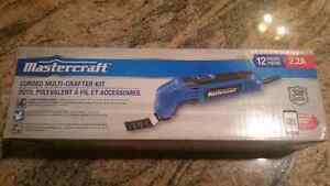 NEW Mastercraft Corded Multi-Crafter Kit 12 Pieces