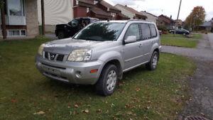 2005 Nissan X-trail VUS cash ou echange