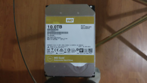 Western Digital Gold 10TB Hard Drive ***UPDATED*** Oct. 15