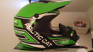 Artic Cat Snowmobiling Helmet