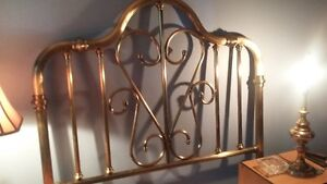 Double Size Brass Bed