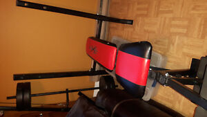 Bench press and attachments