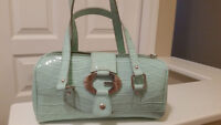 Super Cute Aqua Small Guess Handbag
