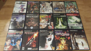 ** Playstation 1 and Playstation 2 Games for Sale or Trade!!! **