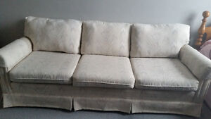 couch neat and clean from a smoke and pet free home