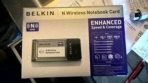 Belkin N Wireless Notebook Card, F5D8013 v4