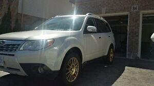 RARE 2012 Subaru Forester touring 0kM!!