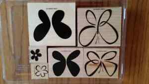 Stampin up bold butterfly set