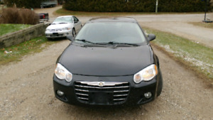 I have a 2004 Chrysler Sebring for sale with low kilometers
