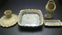Great Price.....4 piece Handcrafted Pottery Set