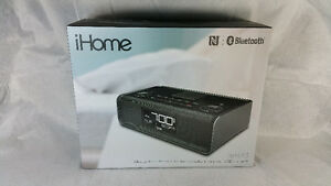 iHome iBN43BC Bluetooth Clock Radio Black