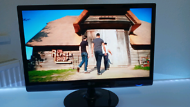 """22"""" LCD LG FREEVIEW (NON SMART) FULL HD TV WITH REMOTE, CAN DELIVER!!"""