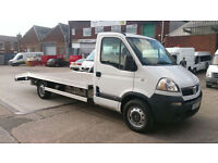 Vauxhall Movano 3500 CDTI EURO4 LWB CAR TRANSPORTER /// NEW BACK ON IT ///