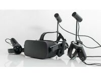Brand new oculus rift headset