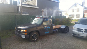 93 gmc 1 ton rat rod dually