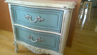 Gorgeous French Country Nightstand !