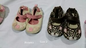 Robeez brand baby shoes-size 2