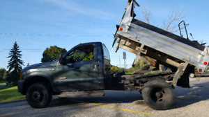 ☆Ford F350 SUPER DUTY - CERTIFIED - DUMP - PLOW ☆