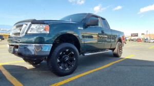 2007 FORD F150 LIFTED/AFTERMARKET RIMS AND TIRES REDUCED $5995