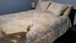 8-piece Double sized comforter set