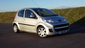 2011 Peugeot 107 1.0 Urban, 2011, 5 Door Hatchback. £20 Road Tax
