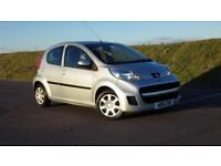Hpi Clear 2011 Peugeot 107 1.0 Urban, 2011, 5 Door Hatchback. £20 Road Tax