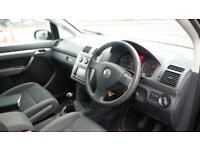 2008 VOLKSWAGEN TOURAN 1.9TDI 105ps Tech7st BlueMotion SE CHEAP BLACK DIESEL CAR