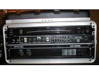 SVT Ampeg rack bass amp head