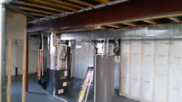 Custom duct work heating and air conditioning services