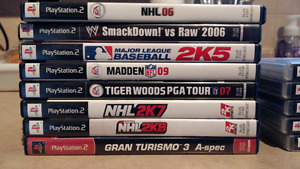 PS2 games $1 each