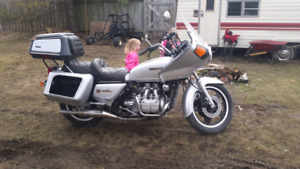 1981 goldwing .   Gl 1100 for parts or just needs motor
