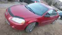 2001 Chrysler Sebring Berline