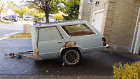 Ford Fairmont Wagon Utility Trailer