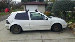 1999 Volkswagen Golf TDI (MK5) Coupe (2 door) w/ Parts Car