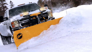 Snow plowing  services for Commercial & Residential Low Prices