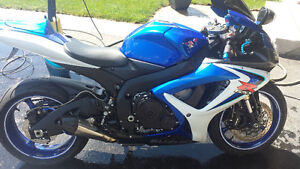 2006 Gsxr with low km