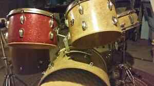 Maxitone drum set with Evans hydraulic skins
