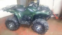 2010 yamaha grizzly 700 power steering only 1090km